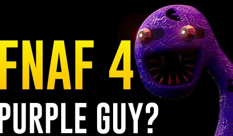 five nights at freddy s 4 scary nightmare purple guy scariest