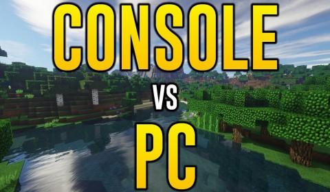 Minecraft Console vs Minecraft PC (Minecraft Xbox One & PS4