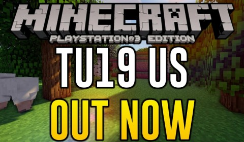 Minecraft PS3 - UPDATE OUT NOW - UNITED STATES TU19 (Minecraft PS4
