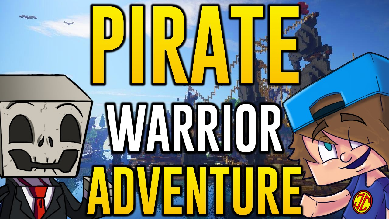 Minecraft Ps4 Adventure Map Lets Play Pirate Warriors