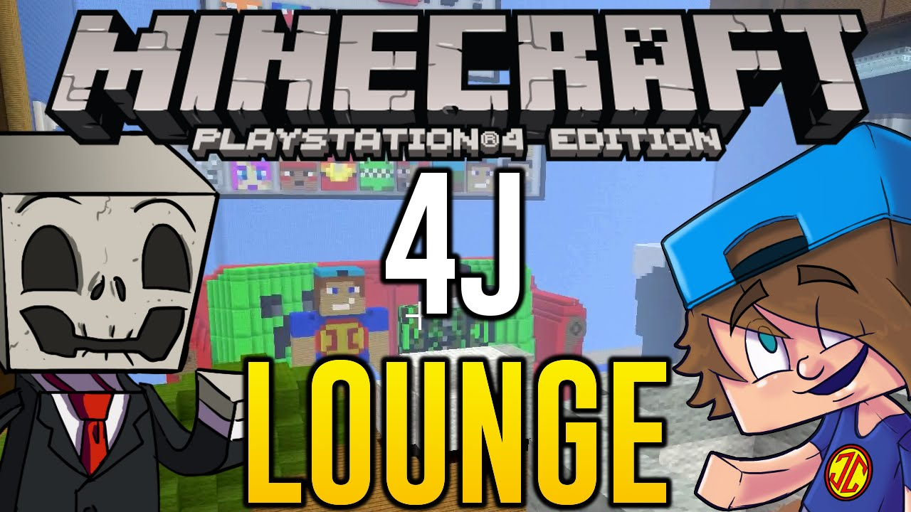 Minecraft Ps4 Hunger Games 4j Studios Lounge Lets Play