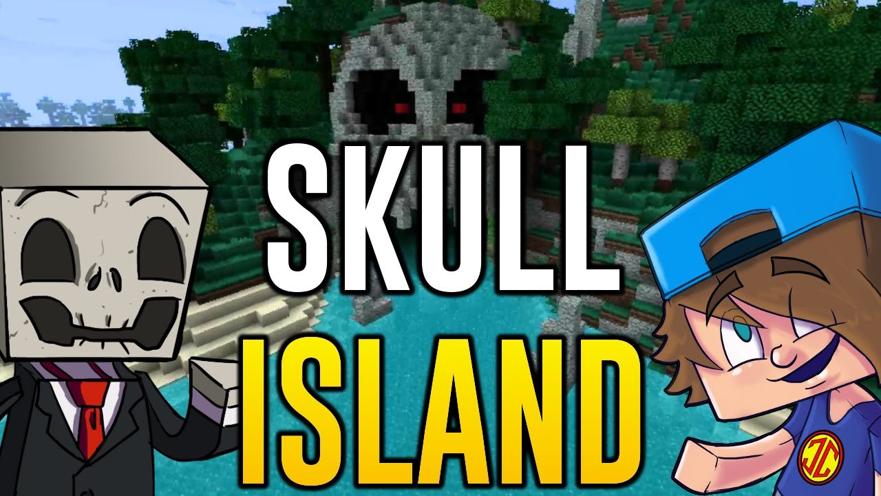 Minecraft PS4 - Let\'s Play Skull Island Adventure Map (Minecraft PS4 ...