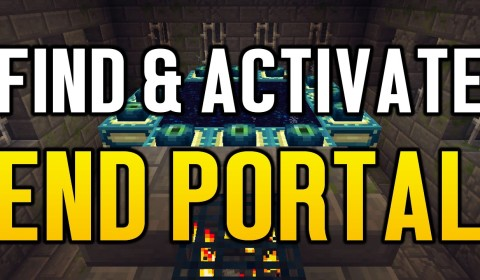 Minecraft Wii U - HOW TO FIND & ACTIVATE END PORTAL Archives
