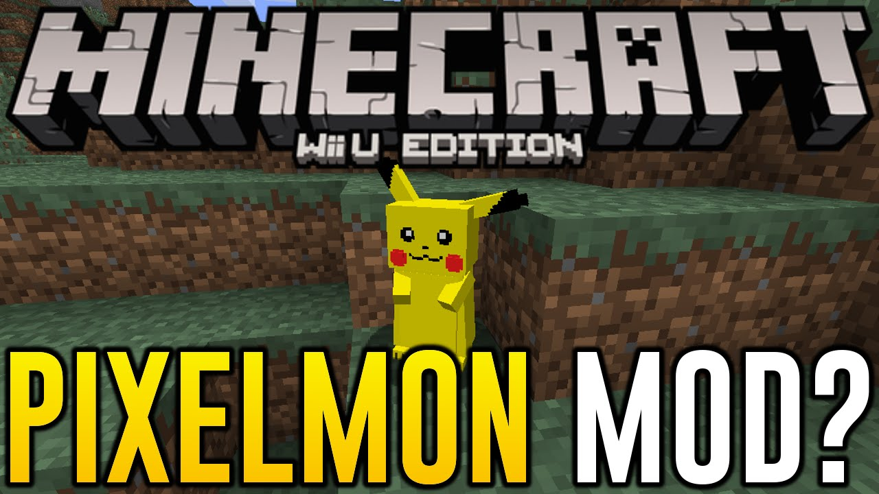 Minecraft Wii U Pixelmon Mod Pokemon Mods For Minecraft Wii U