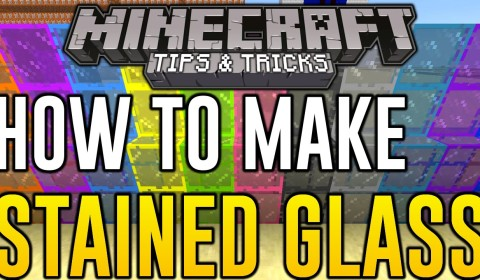 Minecraft Xbox 360 How To Make Stained Glass Minecraft Ps3 Xbox