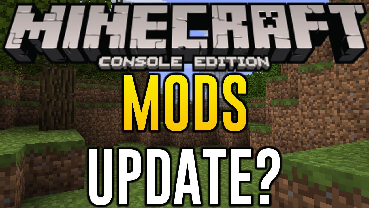 Minecraft Xbox 360 + PS3 - MODS IN TU28 OR TU29 TITLE UPDATE
