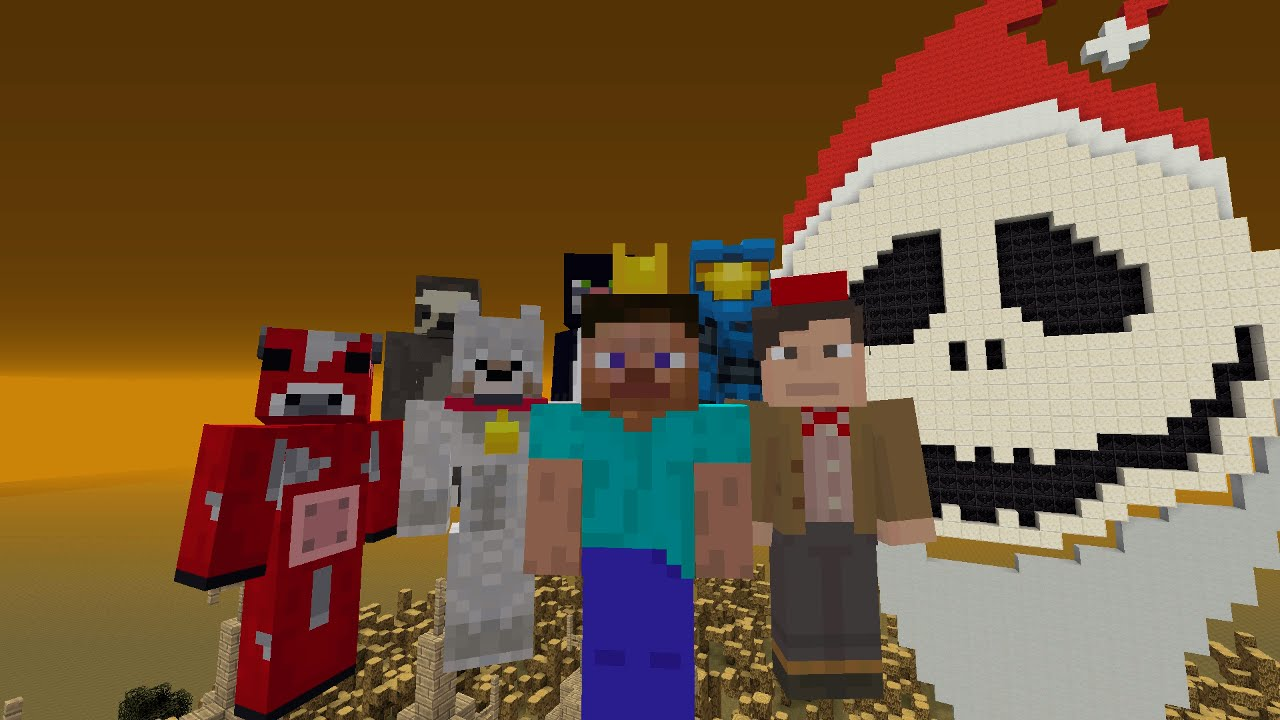 Minecraft Xbox Hide and Seek - The Nightmare Before Christmas - Carnage The Creator