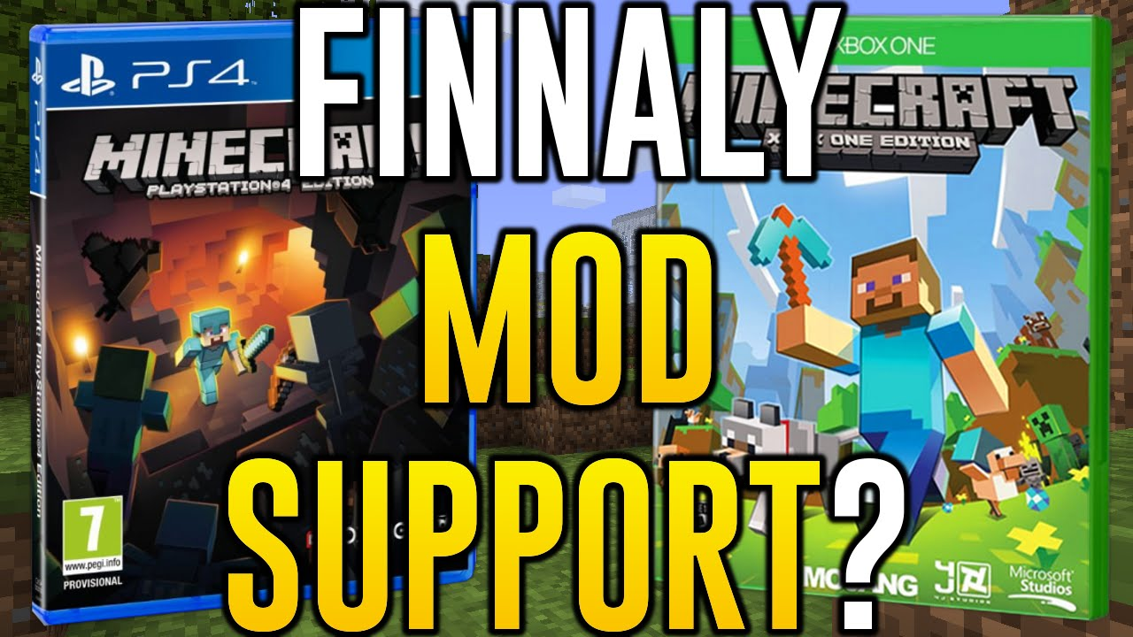 how to use mods in minecraft ps4