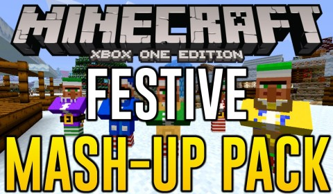 Minecraft Xbox One - New Texture Pack Update (Mash-Up Packs