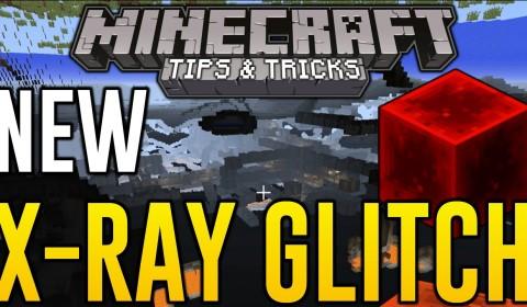 Minecraft Xbox One - Secret X-Ray Block Glitch (How to See