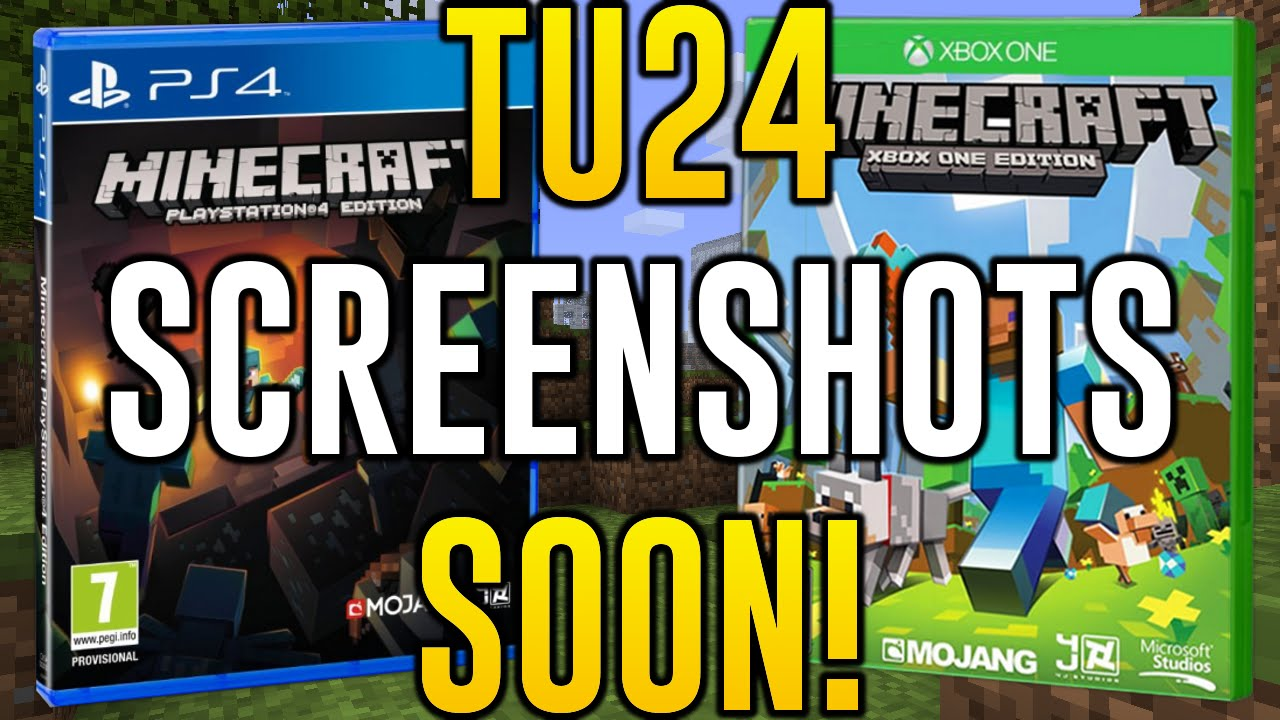 Minecraft Xbox One Tu24 Screenshots Soon Minecraft Ps4