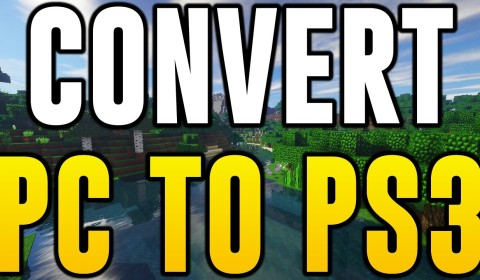 How to Convert Minecraft PC maps to Minecraft PS3 ...
